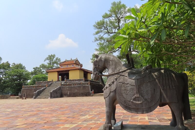 Minh Mang Tomb in Hue city