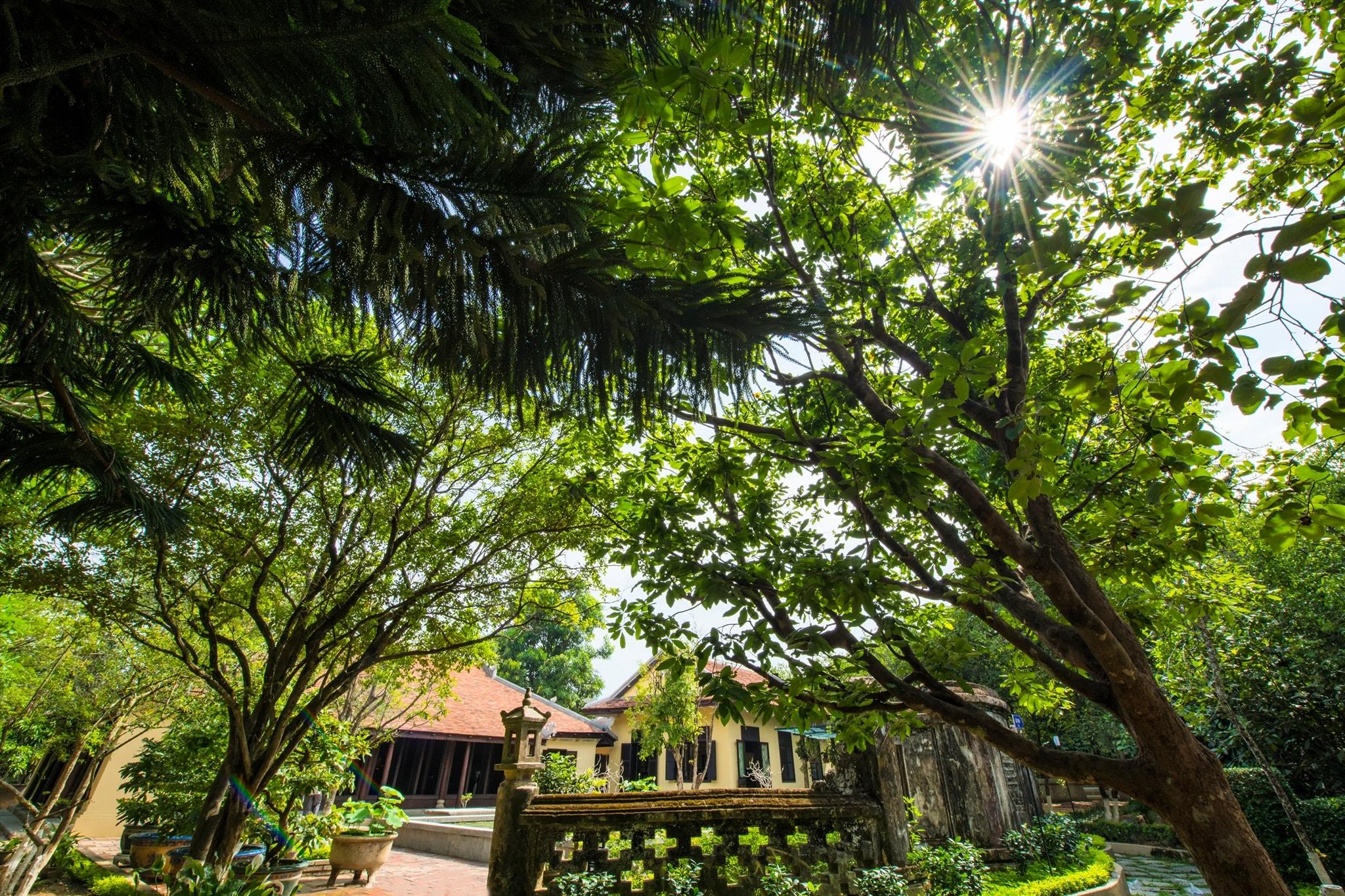 The beautiful garden house Hue