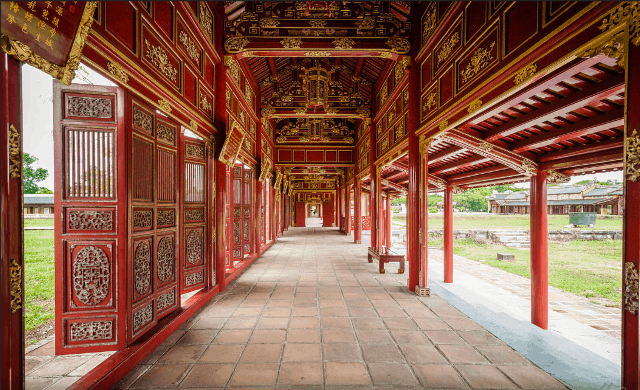 Forbidden city Hue