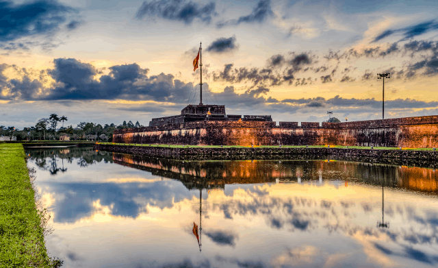 Hue imperial city (Hue Citadel)