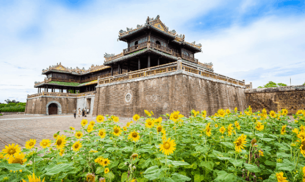 The Noon Gate- Hue Countryside Tour