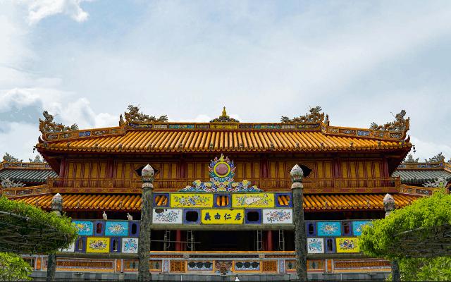 Ngu Phung Palace- Hue citadel