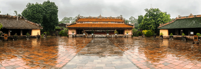 Sung An Temple- Minh Mang tomb