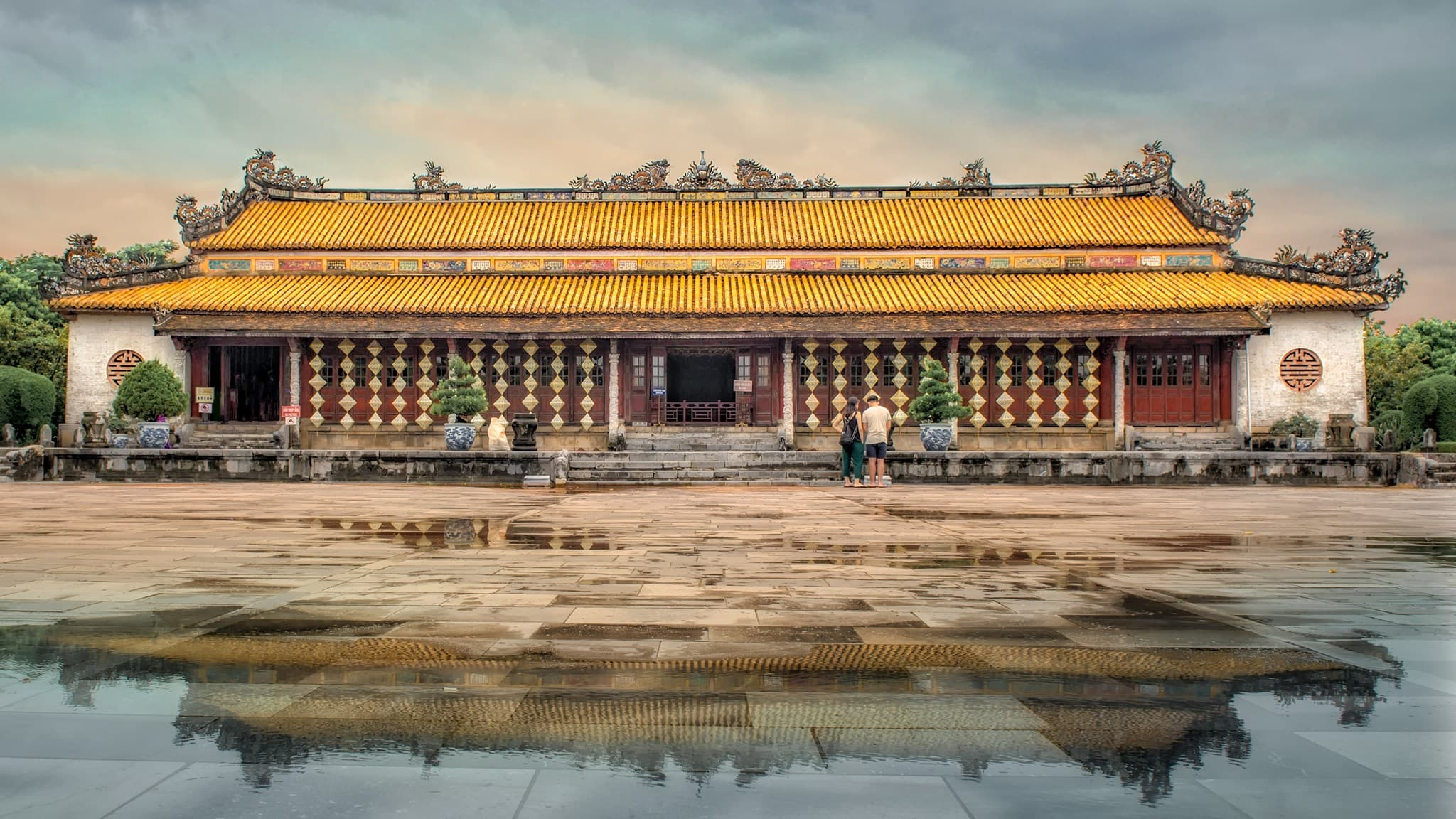 Thai Hoa Palace- Hue imperial city