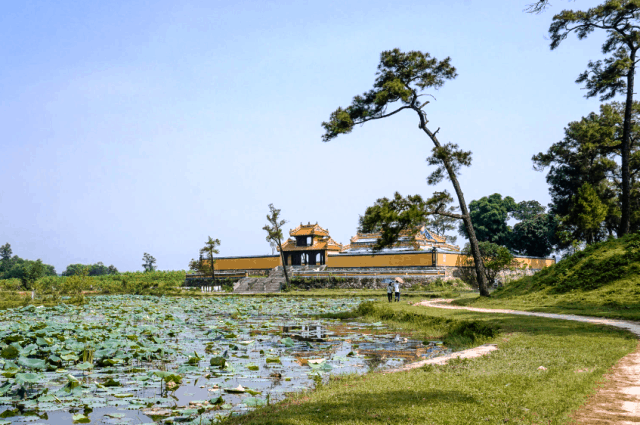 Gia Long Royal tomb in Hue, Vietnam