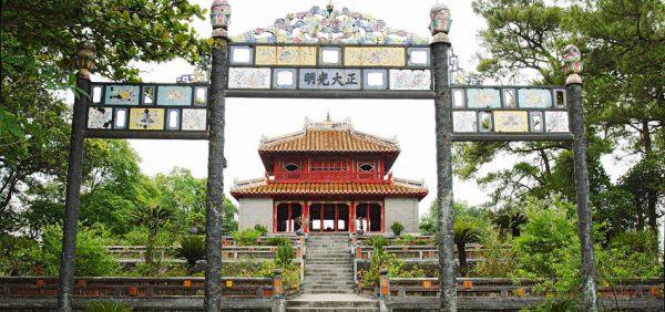 Minh Mang royal tomb- Culture Pham Travel