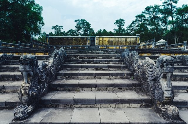 Tomb of Gia Long in Hue City