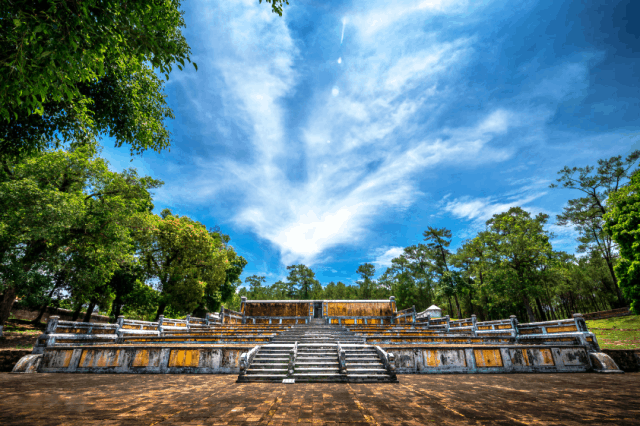 Hue Royal Tombs in Hue City