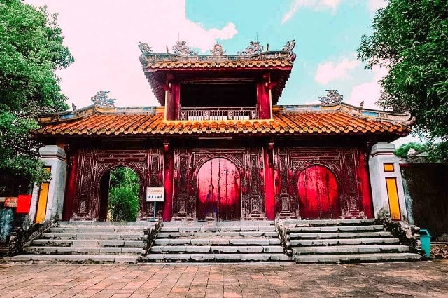Minh Thanh Gate in GIa Long Tomb
