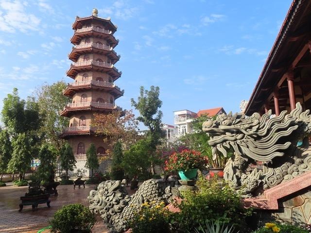 Tu Dam pagoda in Hue city