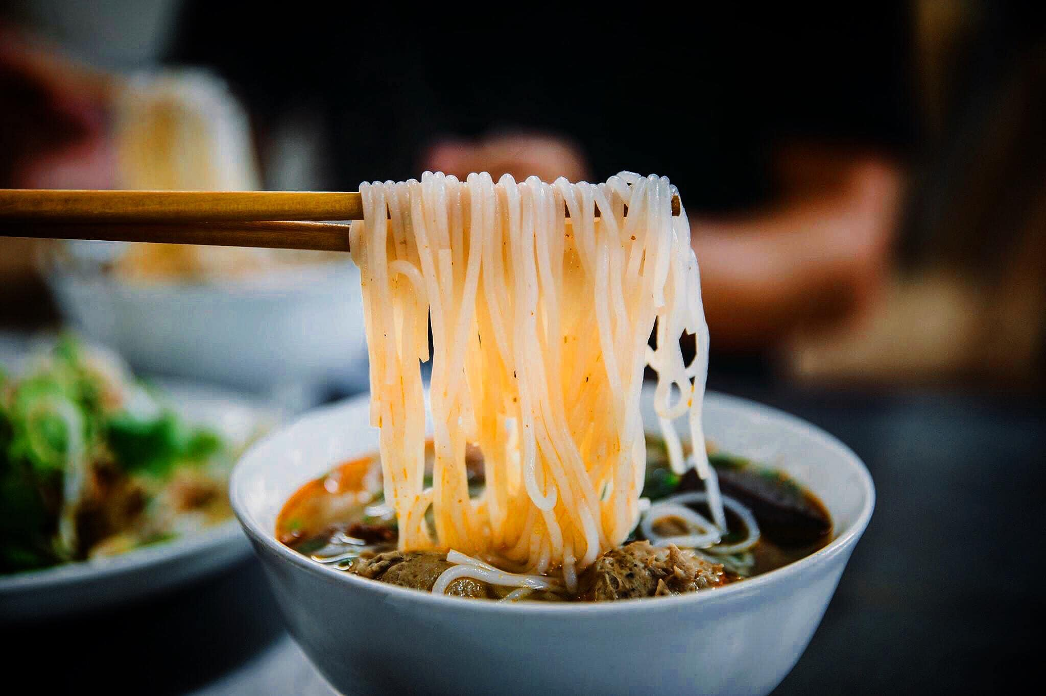 Noodle soup with beef- Culture Pham Travel