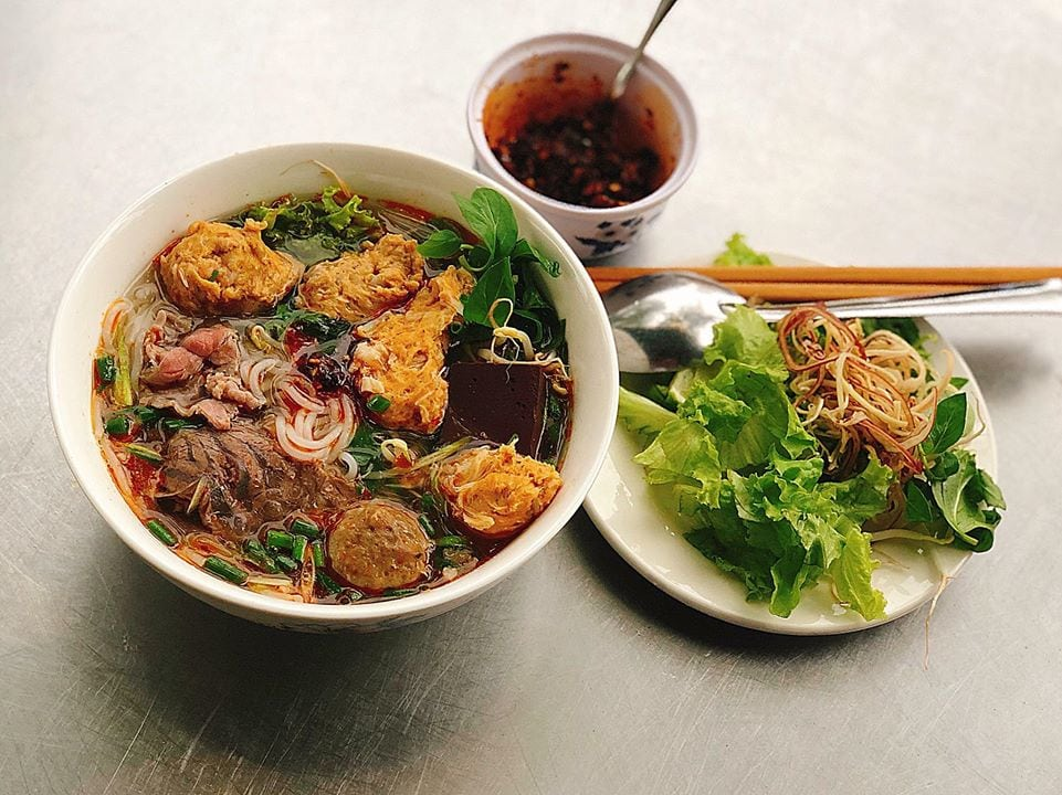 Bun Bo Hue- Culture Pham Travel