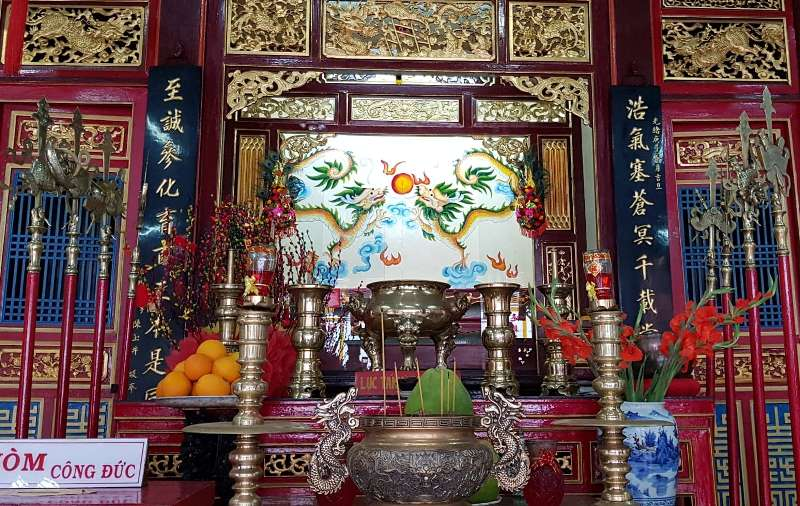 Gods at Phuc Kien assembly hall - Culture Pham Travel
