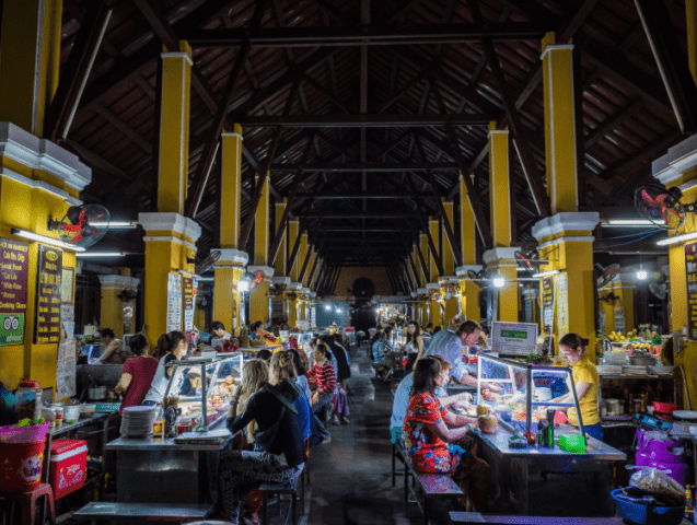 Food court at Hoi An