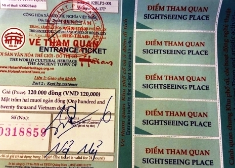 Hoi An entrance tickets- Culture Pham Travel