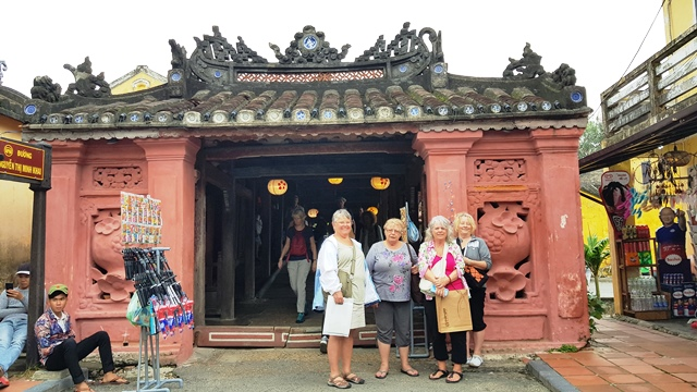 Our tourists in Hoi An