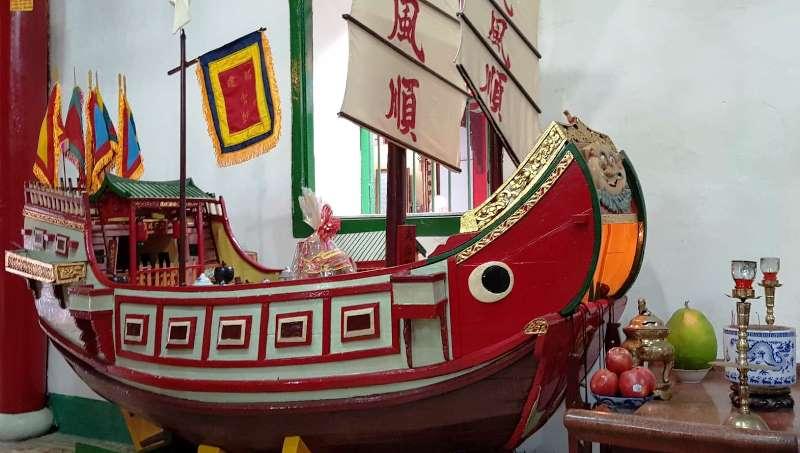 Merchant boat at Fujian Assembly-Hall- Culture Pham Travel