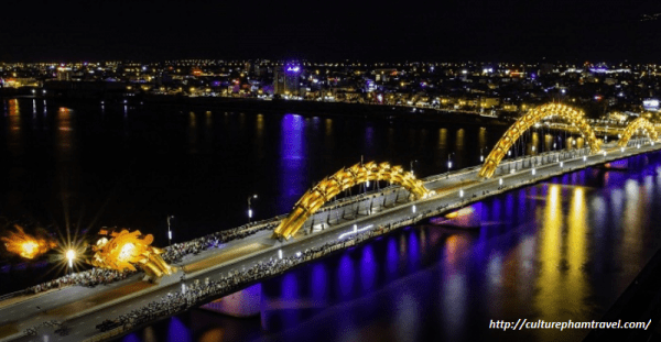 Dragon Bridge-Danang city tour-Culture Pham Travel