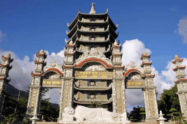 Xa Loi Tower- Linh Ung pagoda- Da Nang city tour