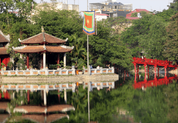 Hoan Kiem Lake- Ngoc Son temple- Ha Noi City Tour from Cai Lan port