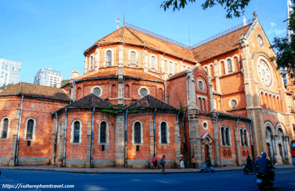 Notre Dame cathedral- Ho Chi-Minh City Tour- Culture Pham Travel