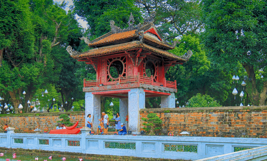 Temple of literature- Ha Noi city tour full day- Culture Pham Travel