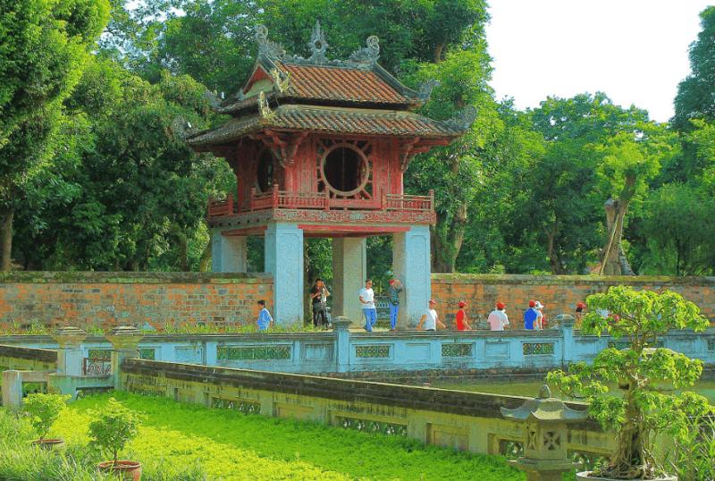 Temple of Literature- Culture Pham Travel