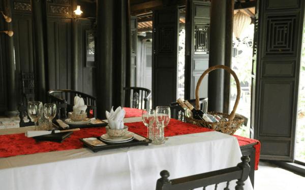 Tha Om restaurant- Hue Countryside Tour- Culture Pham Travel
