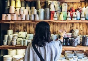 Buy a product at the village- Culture Pham Travel