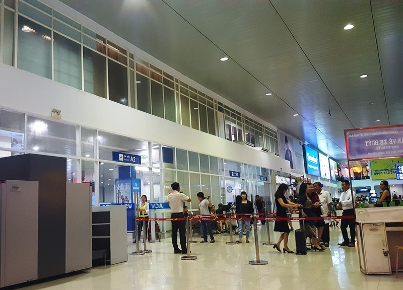 Hue airport- Culture Pham Travel