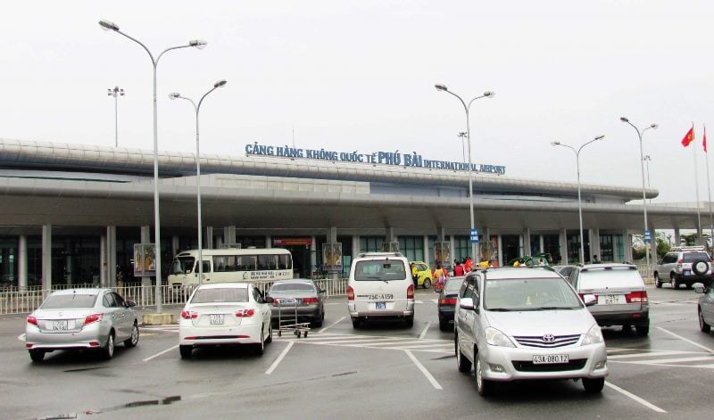 Phu Bai airport- Culture Pham Travel
