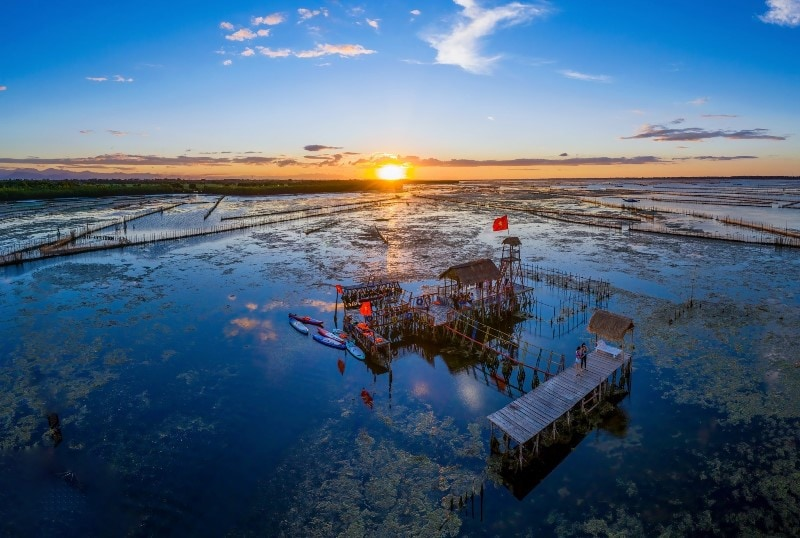 SUNRISE ON TAM GIANG LAGOON – PRIVATE TOUR