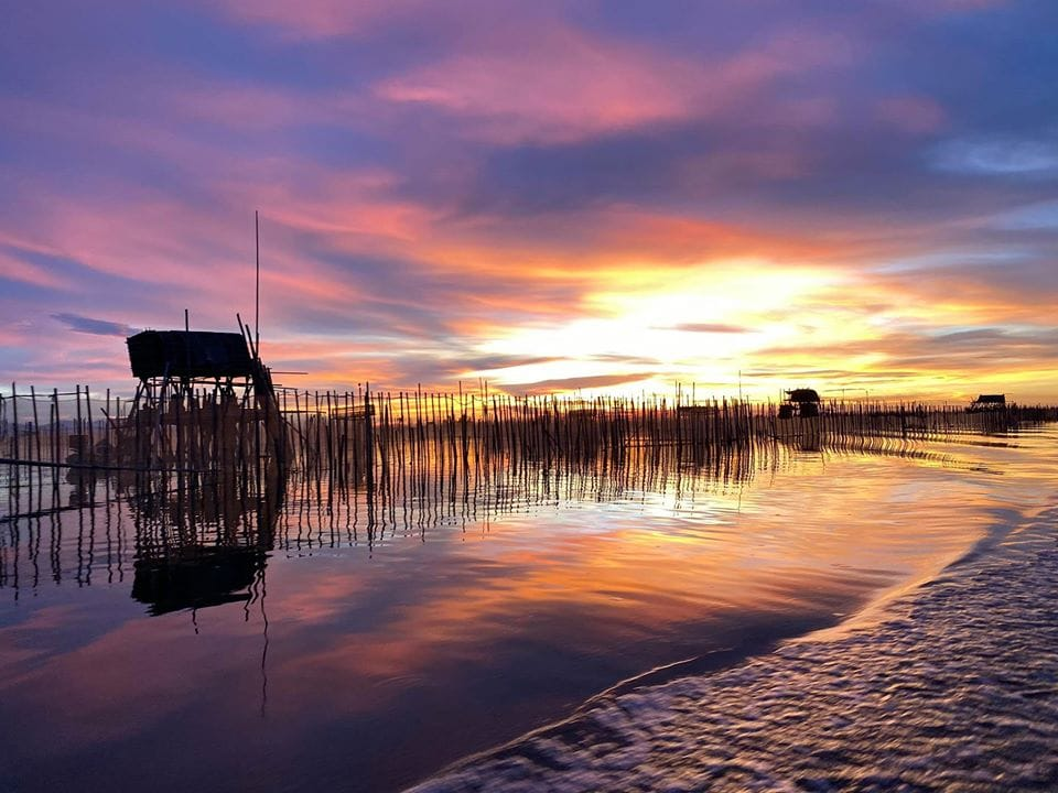Sunset on Tam Giang Lagoon Hue- Culture Pham Travel