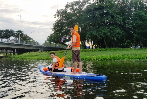 Hue SUP Tour on the Perfume River- Culture Pham Travel