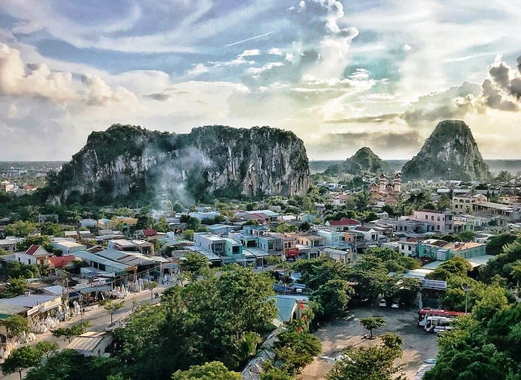 Hoi An To Marble Mountain By Private Car