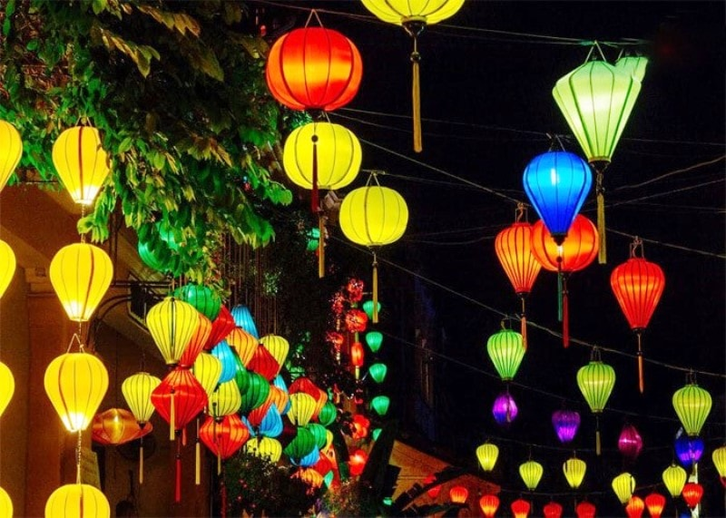 Beautiful Hoi An nightlife