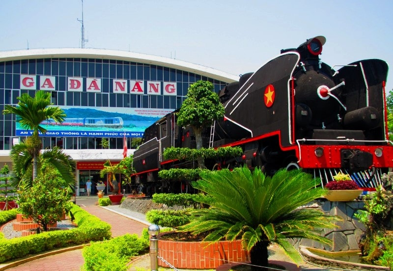 Da Nang train station- Culture Pham Travel