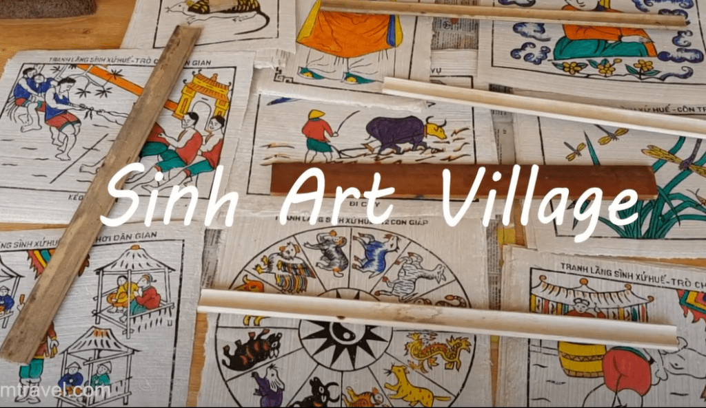 Sinh Folk Painting Village- Culture Pham Travel
