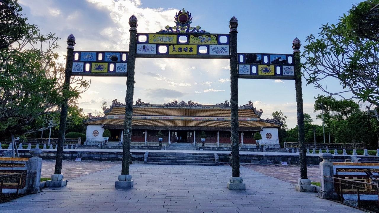 Noon Gate Hue Vietnam